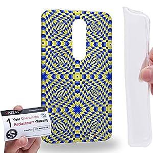 Case88 [Motorola Moto X Force / Droid Turbo 2] Gel TPU Carcasa/Funda & Tarjeta de garantía - Art Fashion Visual Art Effect 1 Art1000