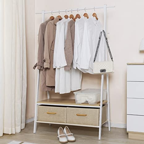 Clothes hat shelf Perchero Blanco/tendedero/A Palabra Percha ...