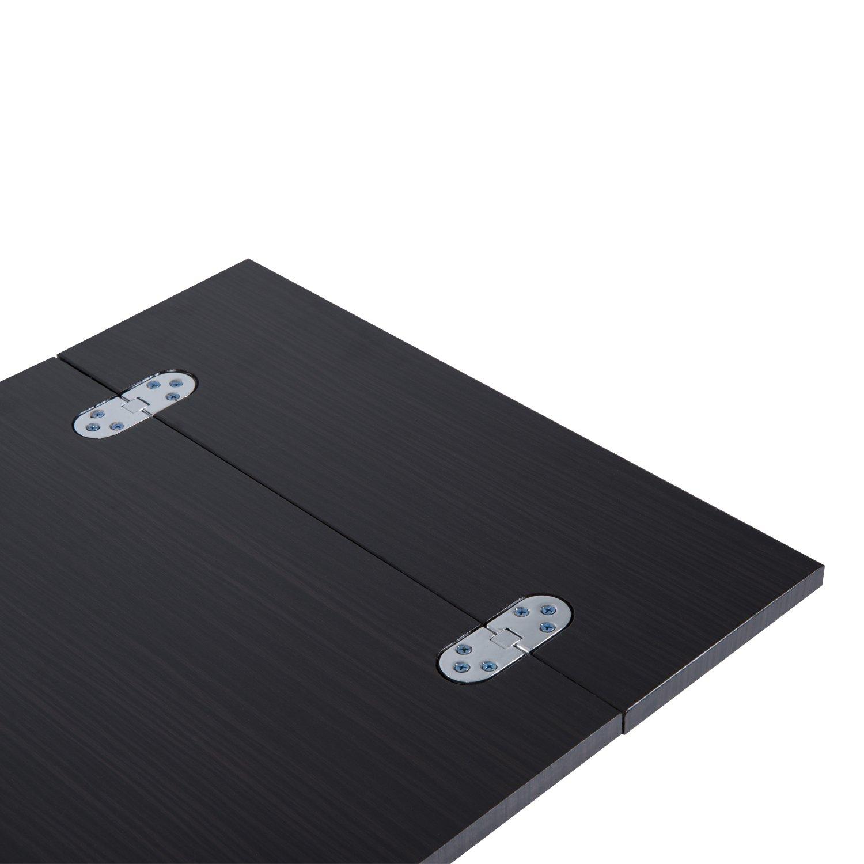 Computertisch, niedrig, ausklappbar, MDF, Rahmen aus Eisen, 61&nbsp ...