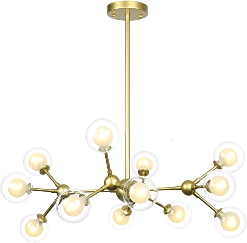 Derksic 12 Lights DNA Chandelier Modern Chandelier
