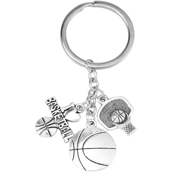 1 unid tema de baloncesto llavero aleación llavero regalo de ...