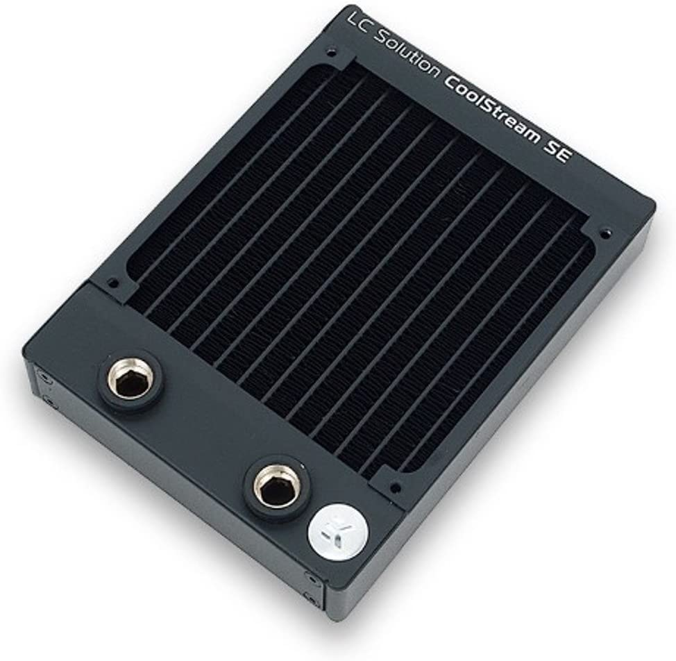 EKWB EK-CoolStream SE 120 Radiator Slim Single Black