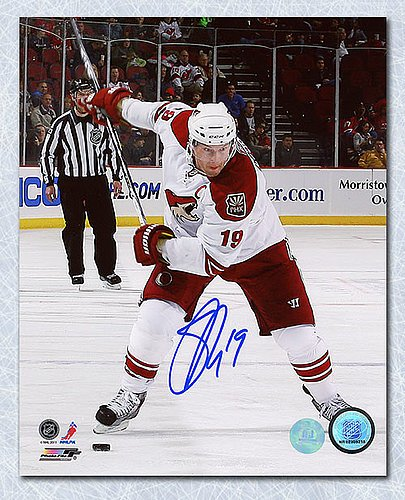 3ed985770 Image Unavailable. Image not available for. Color  Shane Doan Phoenix  Coyotes Autographed ...