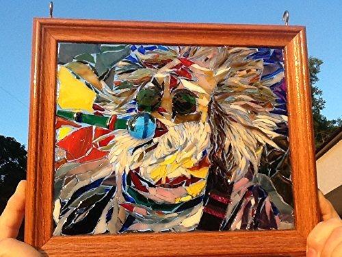 Jerry Garcia Art Window Art Sun Catcher Grateful Dead by Mountain Mosaics