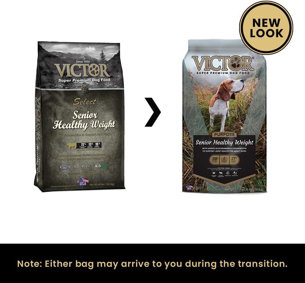 Victor Senior Healthy Weight Dry Dog Food