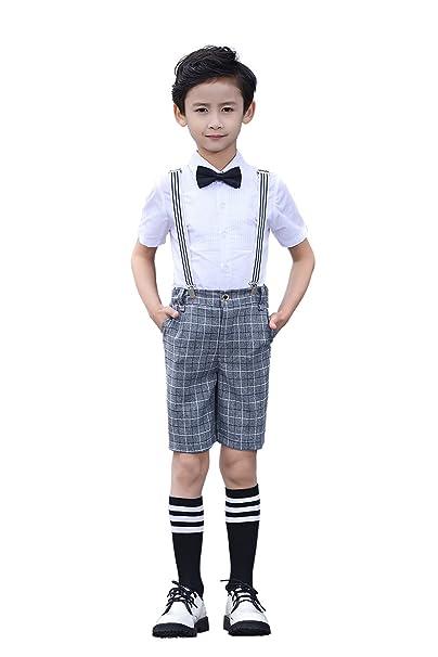 Yuanlu - Traje - para niño gris gris 2 años: Amazon.es: Ropa ...