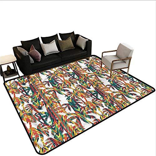 Tropical,Outdoor Floor Mats 64