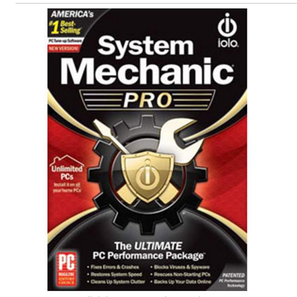 System Mechanic Professional - Unlimited PCs Version 11 by IOLO
