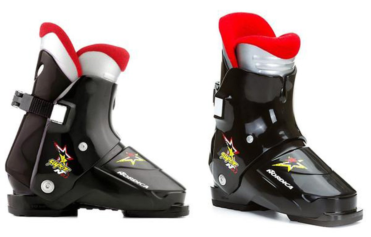 Nordica Super N01 Ski Boots Black Mondo 24.5,25.5, 6.5,7,7.5,8,8.5 mens womens rear entry