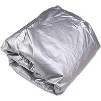 Full Car Cover Indoor Outdoor Sunscreen Heat Protection Dustproof Anti-UV Scratch-Resistant Sedan Universal Suit S