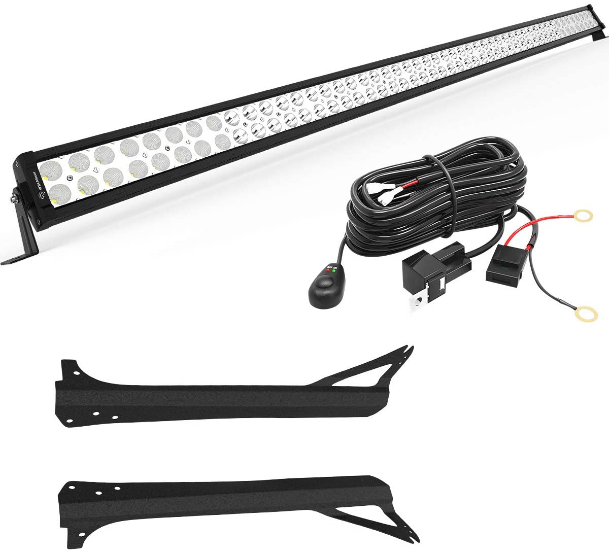 YITAMOTOR LED Light Bar 52 inches Light Bar Compatible for 1997-2006 on