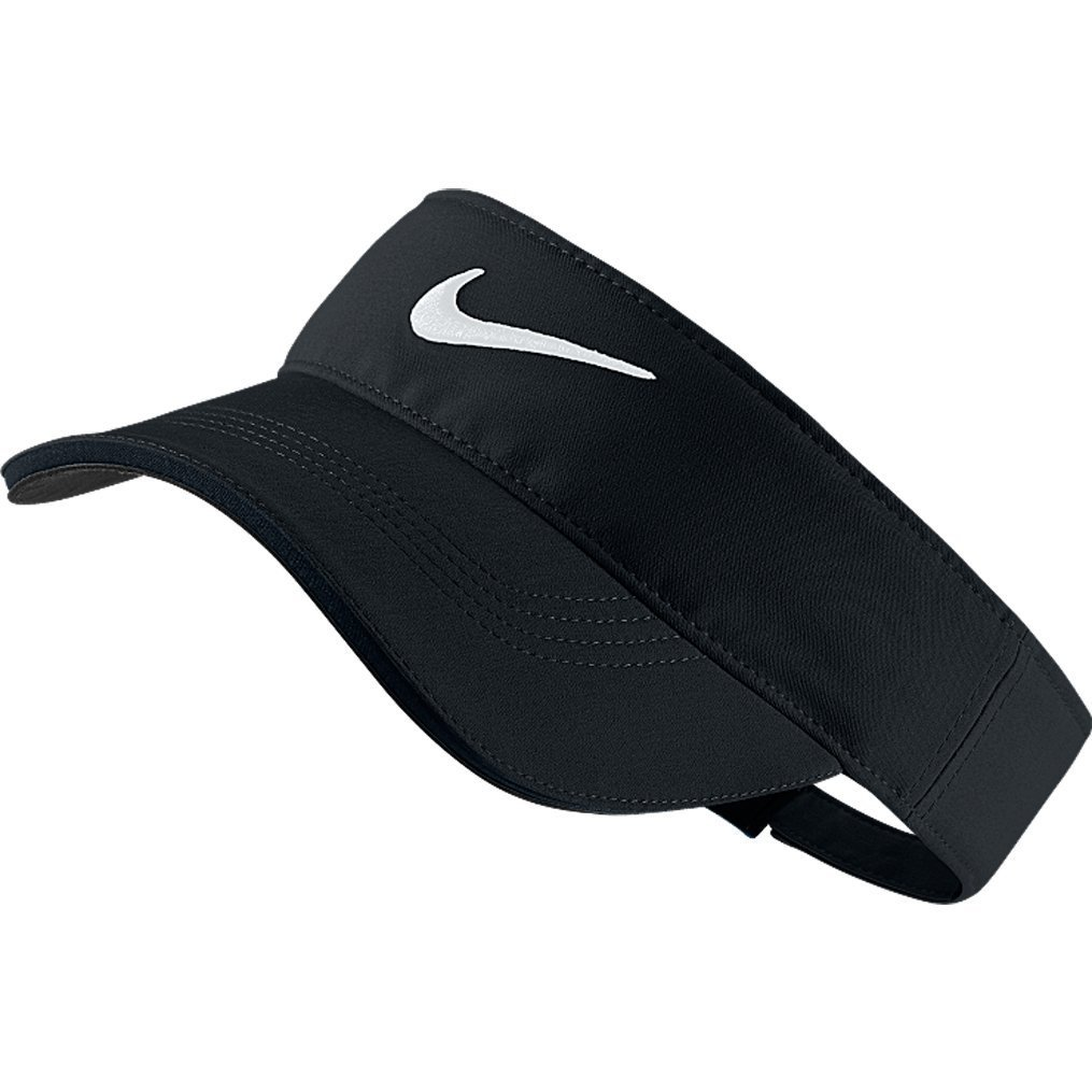 Nike Golf Tech Visor, Black, Adjustable,One Size by Nike