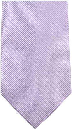 Knightsbridge - Corbata para hombre, diseño diagonal, color lila ...