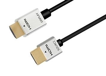 ysimda Ultra delgado Flexible serie RedMere activo HDMI 2.0 a a un cable de alta velocidad,