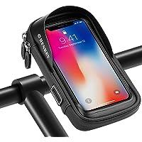 shenkey Fietsstuurtas, fiets-telefoonhouder met waterdicht touchscreen, fietstelefoonhouder, standaard voor smartphones…
