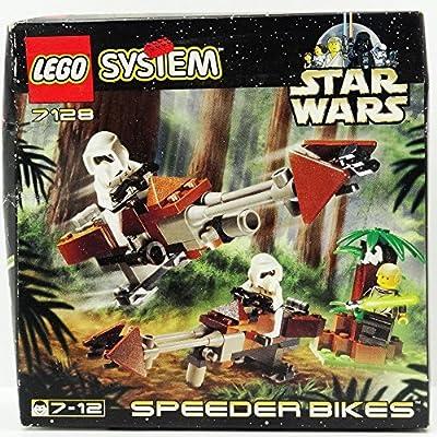 LEGO Star Wars Set #7128 Speeder Bikes: Toys & Games
