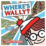 Wheres Wally Square Wall Calendar 2014 by Carousel Calendars ( 2013 ) Paperback