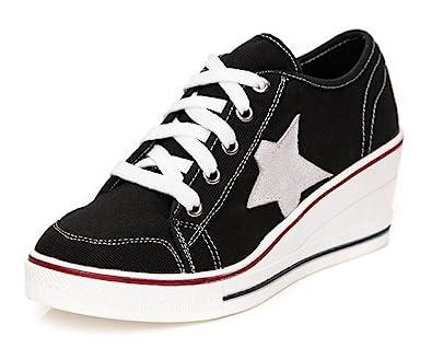 converse wedge heel sneakers