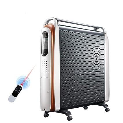 Radiador eléctrico MAHZONG Calentador, 2400W, Calentador eléctrico Vertical, Ahorro de energía