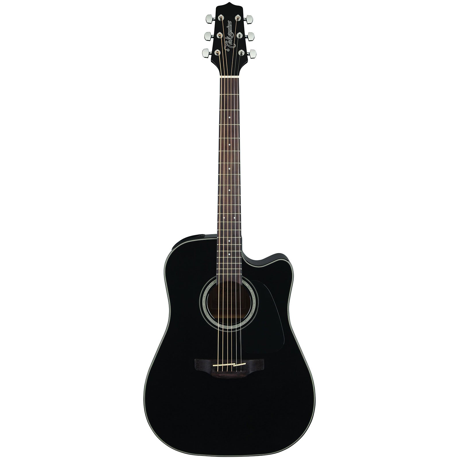 Takamine 6 String Acoustic-Electric Guitar GD30CE BLK-KIT-1 by Takamine