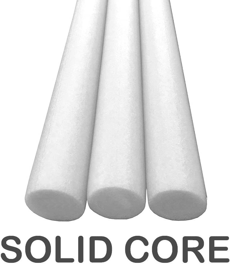 Oodles of Noodles Deluxe Solid Core Swimming Pool Noodles - (Best for Bouyancy)