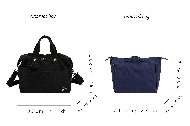 iSuperb Waterproof Nylon Travel Duffle Bag Combined Bag Shoulder Crossbody Bag