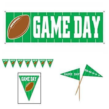 woodies football showproducts party decorations decor supplies