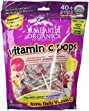 Yummy Earth Organic 300% daily Vitamin C Lollipops 40 pops, 8.5 Ounce