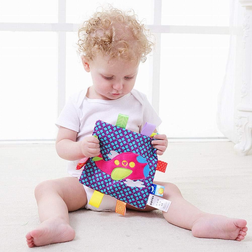 PoeHXtyy Appease Handtuch Spielzeug Baby Calm Tuch Decke Tag Decke
