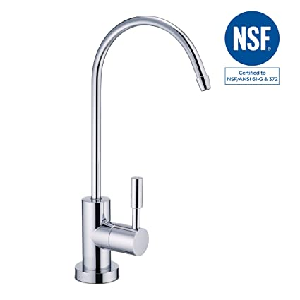 NSF 100% Lead Free Faucet Kitchen Sink Drinking RO Water Filter ...