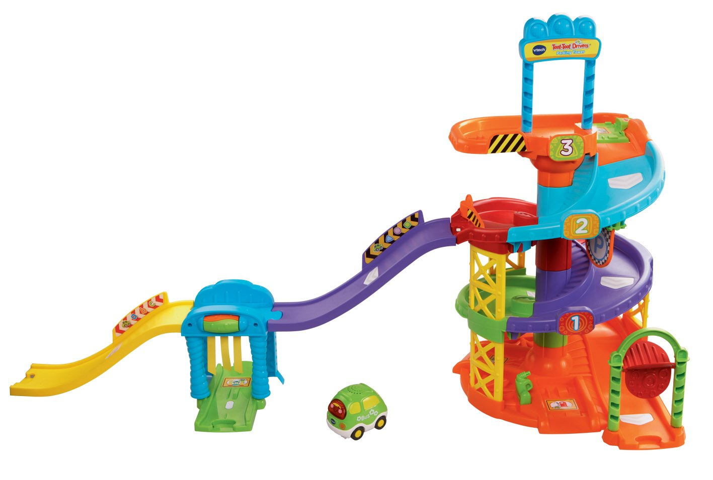 VTech Baby Toot-Toot Drivers Parking Tower - Multi-Coloured Vtech Electronics 152703