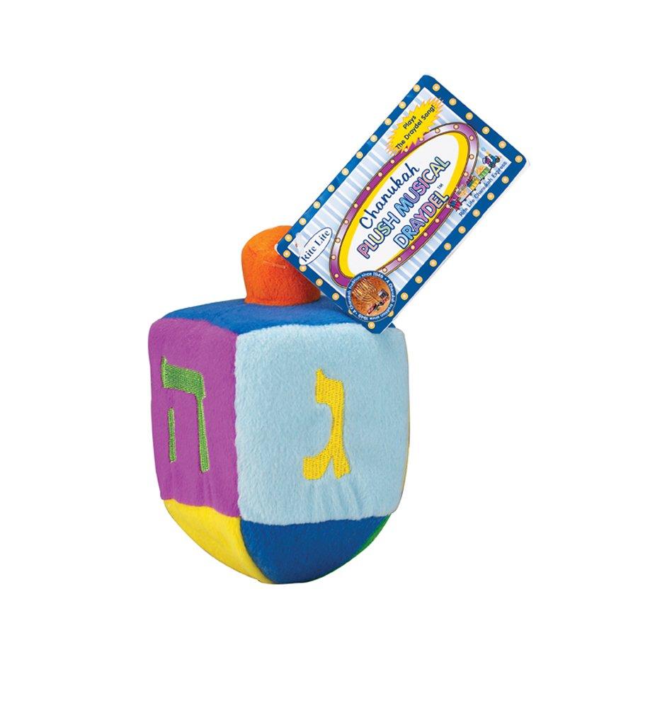 Lite Judaica Plush Embroidered Musical Draydel Rite Lite LTD DRL-15 Rite