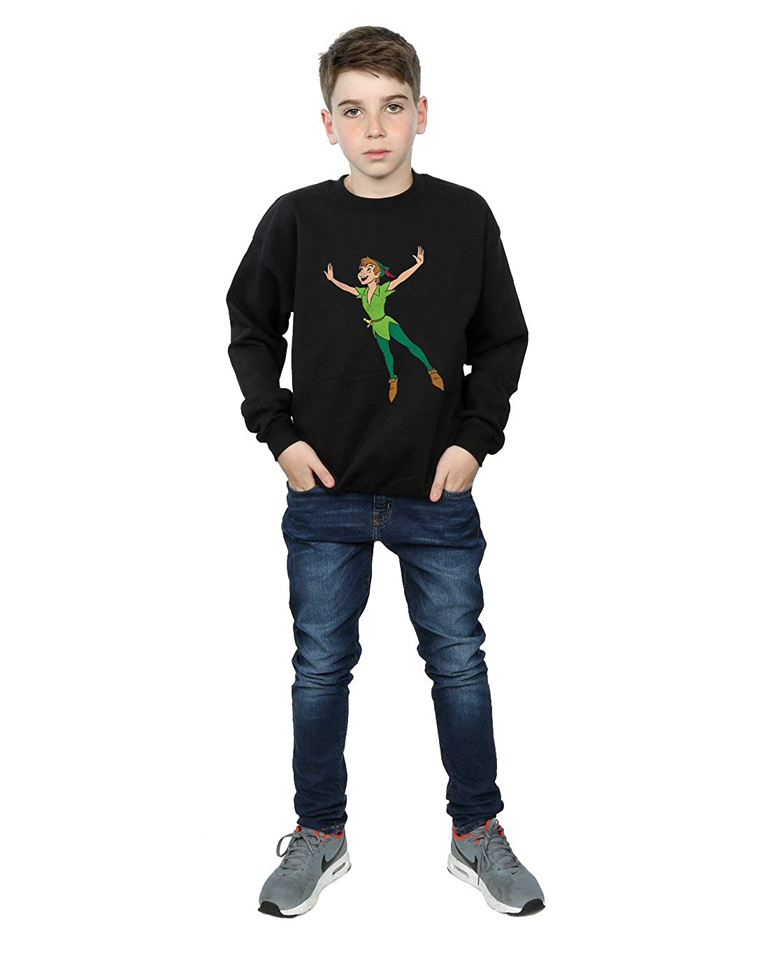 Disney Gar/çon Peter Pan Classic Flying Peter Sweat-Shirt