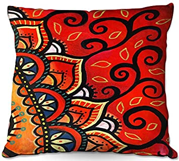 Fabulous Amazon Com Decorative Woven Couch Throw Pillows From Alphanode Cool Chair Designs And Ideas Alphanodeonline