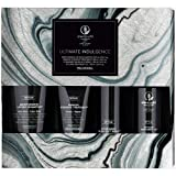Paul Mitchell Ultimate Indulgence Awapuhi Wild Ginger Gift Set - Moisturizing Lather Shampoo 250ml, Keratin Intensive Treatment 100ml, Hydromist Blow-out Spray 150ml, Styling Treatment Oil 100ml