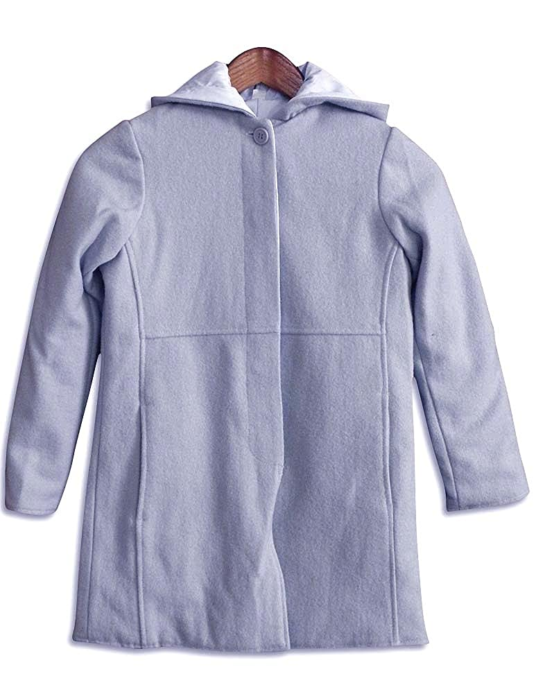 Big Girls Reversible Hooded Dress Coat Outeredge