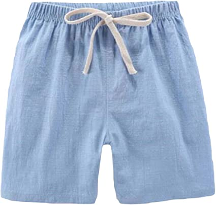 XXBlosom Boys Summer Loveliness Pure Colour Pockets Elastic Waist Shorts