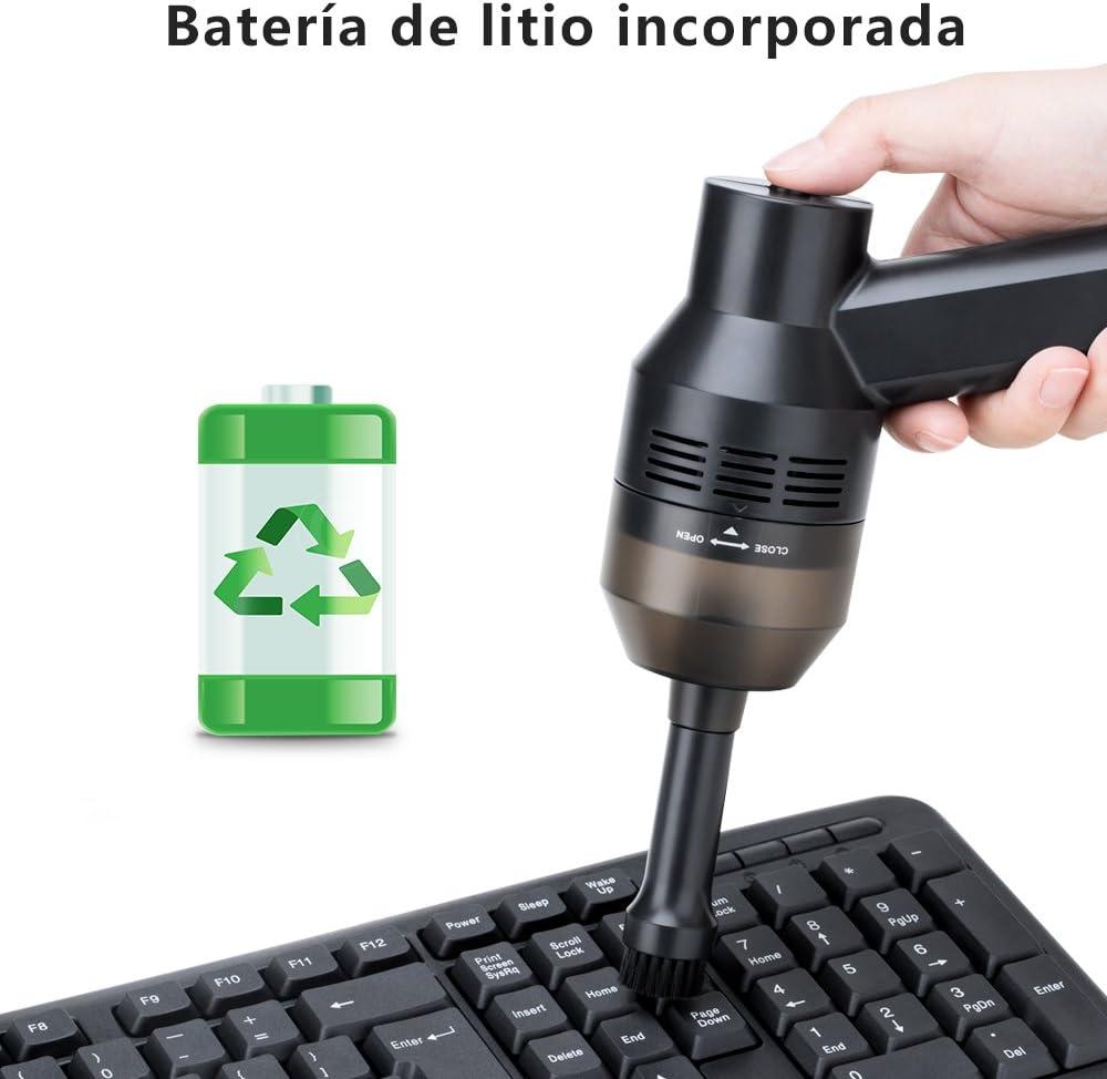 Wonyered Aspirador Teclado de Mano Poderoso Inalámbrico Recargable ...