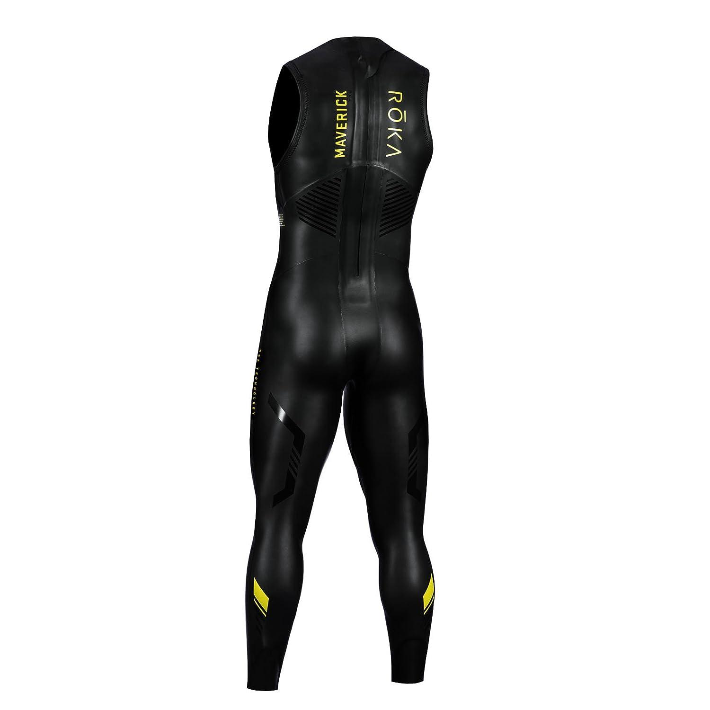 1cff8f2f048 Amazon.com   ROKA Maverick Pro II Sleeveless Men s Wetsuit for Swimming and  Triathlons   Sports   Outdoors