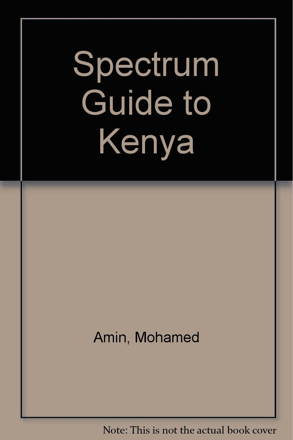 Spectrum Guide to Kenya (Spectrum Guides (Hunter)): Mohamed