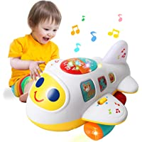 HOMOFY Baby Toy 12-18 Months Electronic Airplane Toddlers Toys for 1 Year Old Boys Girls with Lights & Music Kids Early…