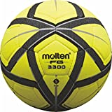Molten Unisex's top Indoor Football Ball Gr. 5, Yellow/Black/Silver, 5