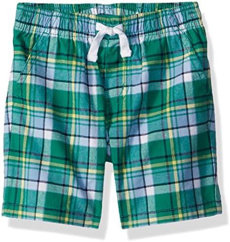 Gymboree Boys Little Patchwork Woven Shorts