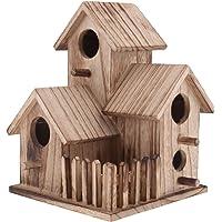 Sharplace Miniatura de Casa de Pájaros Nido