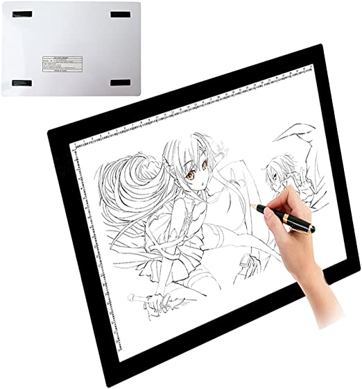 UK Ultra Thin A3 A4 LED Board Craft Tracing Drawing Stencil Table Pad Light Box