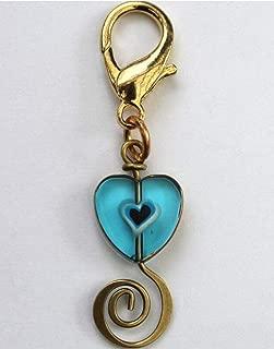product image for Diva-Dog 'Edwardian Heart' Dog Collar Charm