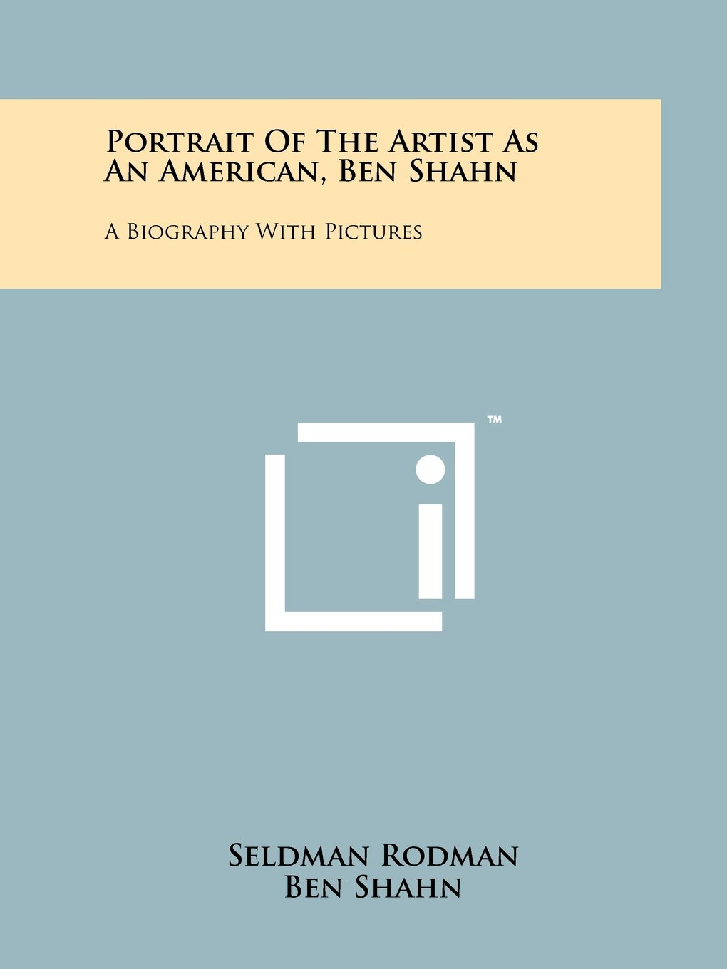 Read Online Portrait Of The Artist As An American, Ben Shahn: A Biography With Pictures PDF