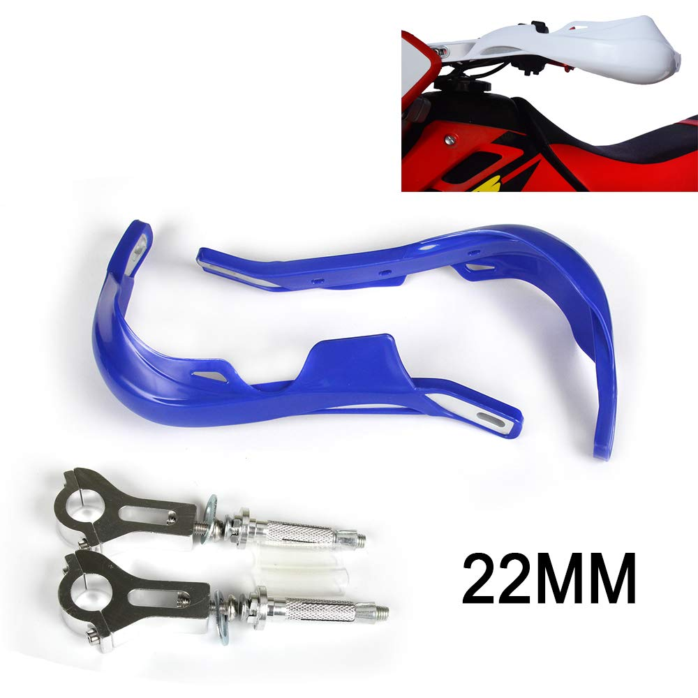 Motorcycle 22mm 7//8 inch Handguards Universal Hand Guards For dirt pit bike ATV Yamaha WR250F WR450F YZ450F YZ125 YZ250 YZ250F Enduro Motocross Blue