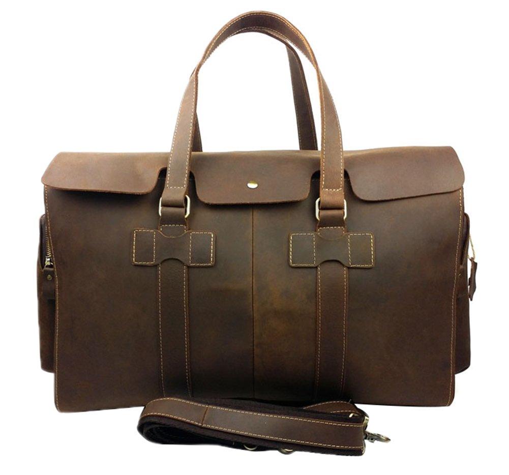 Genda 2Archer Vintage Travel Duffel Bag Boarding Luggage Carry On Gifts for Men