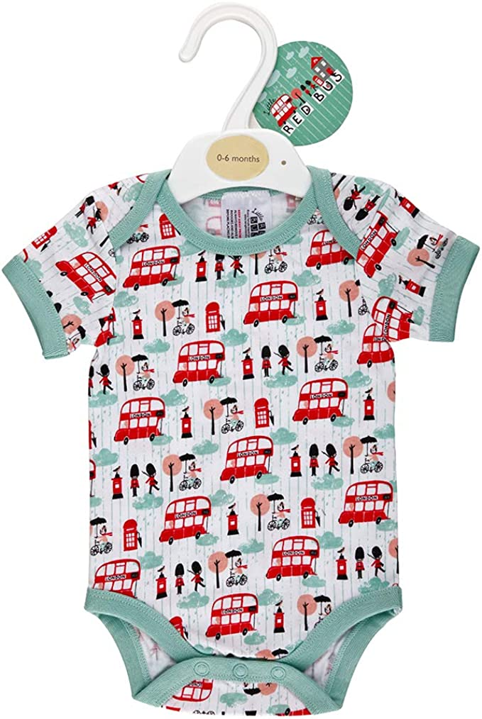 Lovely cosy printed babygrow in two designs.